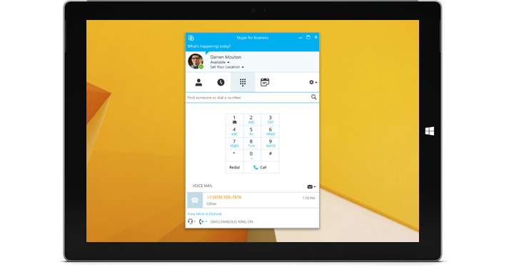 Skype across Devices