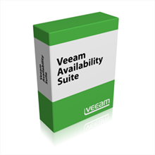 Picture of Veeam Availability Suite Standard Subscription License for VMware 1 Year Subscription License & Premium Support (includes Backup Standard + Veeam ONE) - Public Sector