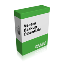 Picture of Veeam Backup Essentials Standard Subscription License for VMware 1 Year Subscription License & Premium Support (includes Backup & Replication Standard + Veeam ONE) - Public Sector