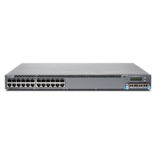 Picture of EX4300, Chassis, 24-Port 10/100/1000 BaseT PoE-Plus