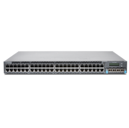 Picture of EX4300, 48-Port 10/100/1000BaseT + 550W DC PS Airflow-In