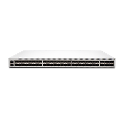 Picture of OCX1100 DC Airflow-Out With 48 10GBE Ports